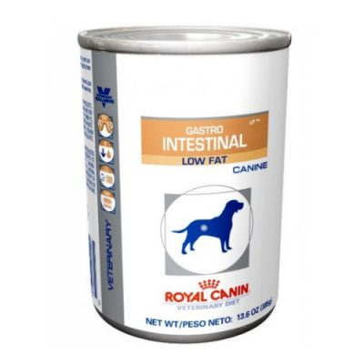 ROYAL CANIN GASTRO INTESTINAL LOW FAT DOG CAN 12X410GR
