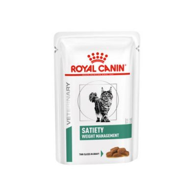 Royal Canin Diet Cat Satiety Weight Management Pouch 12x100gr