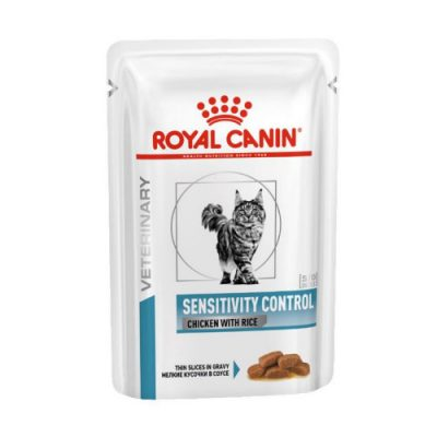 Royal Canin Veterinary Diet - Sensitivity Control Chicken Pouch 12X85Gr