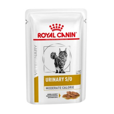 Royal Canin Veterinary Diet - Urinary S/O Moderate Calorie 12X85Gr
