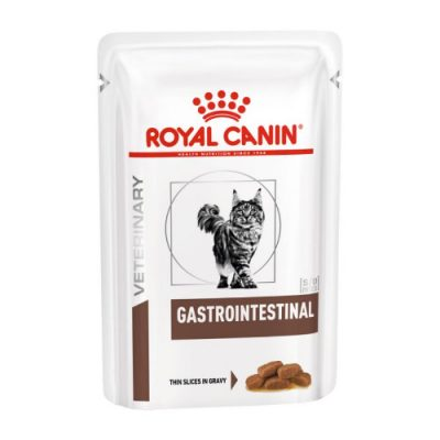 Royal Canin Veterinary Diet - Gastro Intestinal pouch12x100gr