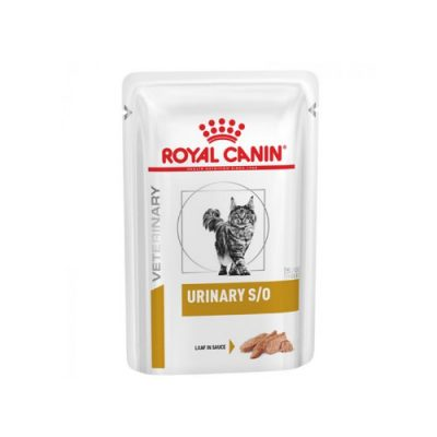 Royal Canin Veterinary Diet - Urinary S/O Πατε Κοτοπουλου Σε Σαλτσα 12X85Gr