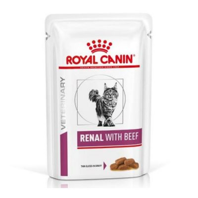 Royal Canin Veterinary Diet - Renal Beef 12X85Gr