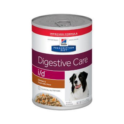 Canine I/D Digestive Care Stew Κοτόπουλο & Λαχανικά 12X354Gr