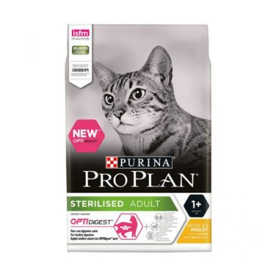 PURINA PRO PLAN STERILISED OPTIDIGEST ΜΕ ΚΟΤΟΠΟΥΛΟ 3KG
