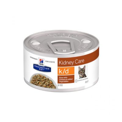 Hill'S Prescription K/D Kidney Care Stew Με Κοτοπουλο & Λαχανικα 24X82Gr