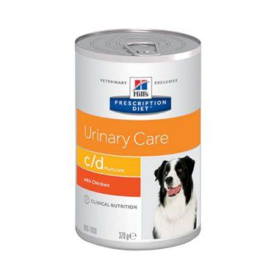 Pd Canine C/D Multicare Urinary Care Με Κοτοπουλο12Χ370Gr