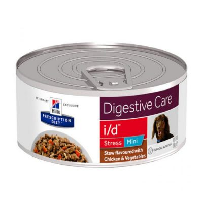 PD Canine i/d Stress Mini Stew Chicken & Vegetables 24x156gr