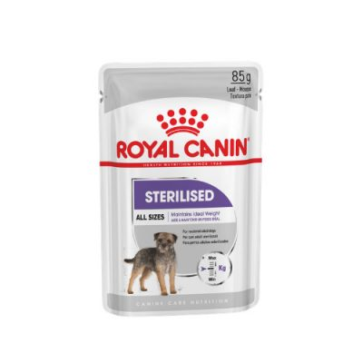 Royal Canin sterilised all size pouch 12x85gr
