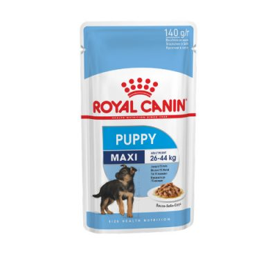Royal Canin Maxi Puppy pouch 10x140gr