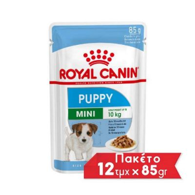 Royal Canin Mini Puppy pouch 12x85gr