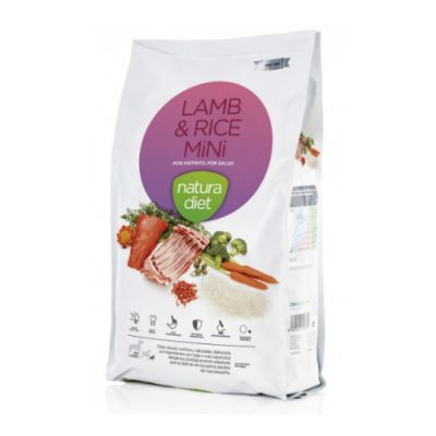 Natura Diet Lamb & Rice Mini 3Kg