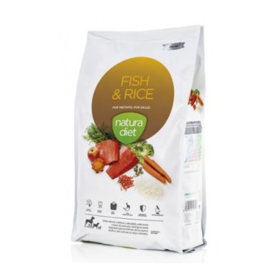 NATURA DIET FISH & RICE 12KG