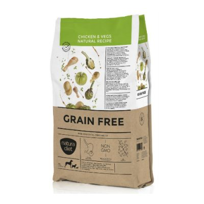 NATURA DIET GRAIN FREE CHICKEN & VEGS NATURAL RECIPE 12KG