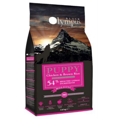 AMBROSIA BLACK OLYMPUS PUPPY MEDIUM CHICKEN & BROWN RICE 12kg
