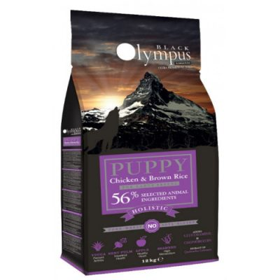 AMBROSIA BLACK OLYMPUS PUPPY MAXI CHICKEN & BROWN RICE 12kg
