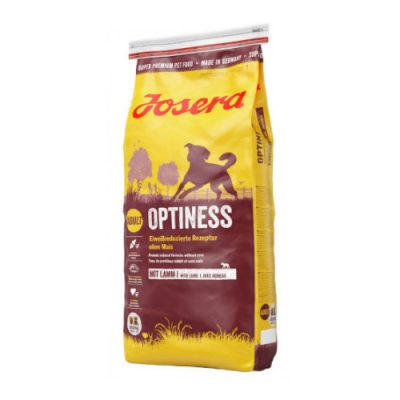 Josera Optiness Grain Free Με Αρνι & Ρυζι 15 Kg