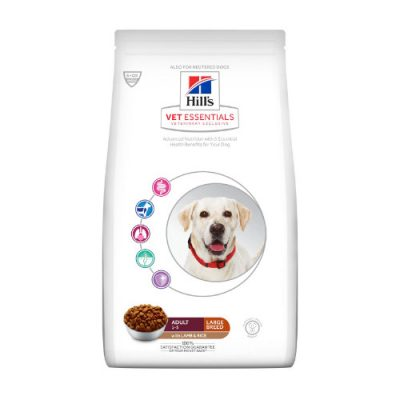 Hill'S Vet Essentials Adult Large Breed Με Αρνί & Ρύζι 16Kg