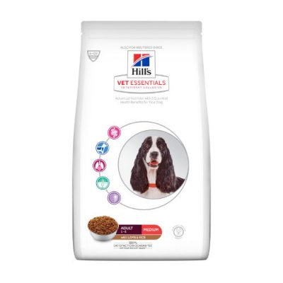 Hill'S Vet Essentials Adult Medium Αρνί & Ρύζι 10Kg