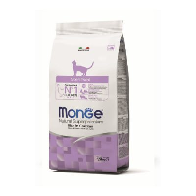 Monge Cat Sterilized Chicken 10Kg