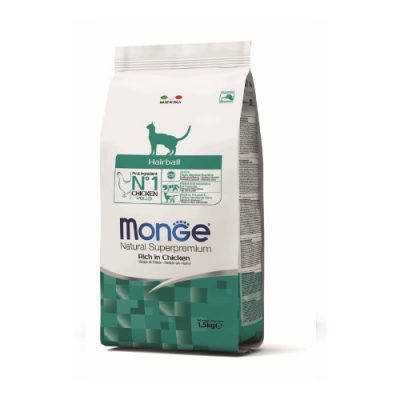 Monge Cat Hairball Chicken 1,5Kg