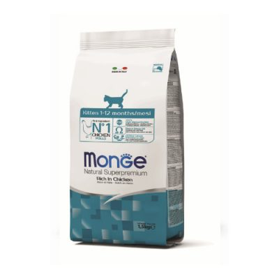 Monge Cat Kitten Chicken 1,5Kg