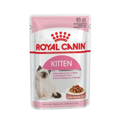 Royal Canin Kitten Gravy 12X85Gr Pouch