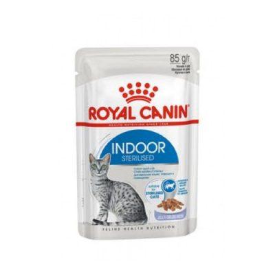 Royal Canin Fhn Indoor Sterilized Gravy 12X85Gr