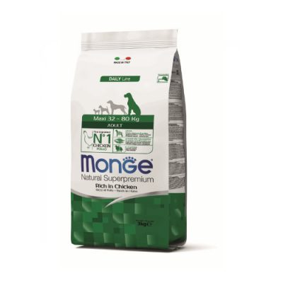 Monge Dog Adult Maxi Chicken 12Kg