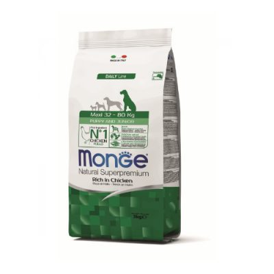 Monge Dog Puppy&Junior Maxi Chicken 12Kg