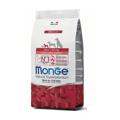 Monge Puppy&Junior Mini Chicken 3Kg