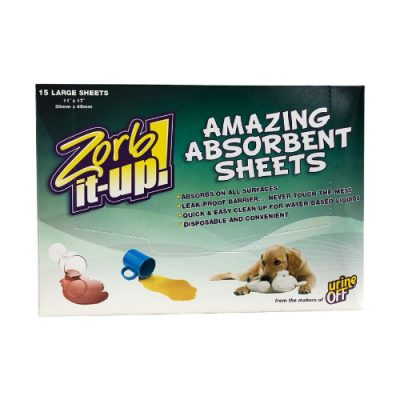 URINE OFF Zorb-it Up Sheets (15 ΦΥΛΛΑ)