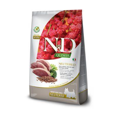 N&D Quinoa Neutered adult mini 7kg