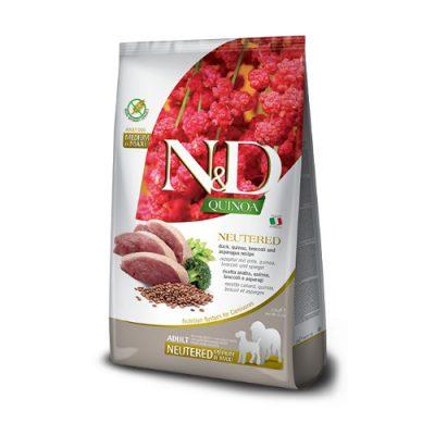 N&D Quinoa Neutered adult med/maxi 2,5 gr